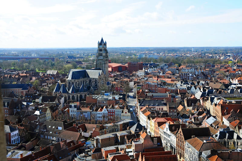 bruges-panorama-view-old-town-belgium-center-saint-salvator-cathedral-brunges
